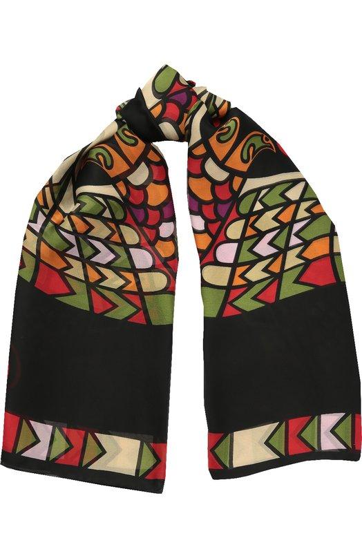 Шелковый платок с принтом Givenchy GW1414/SC811