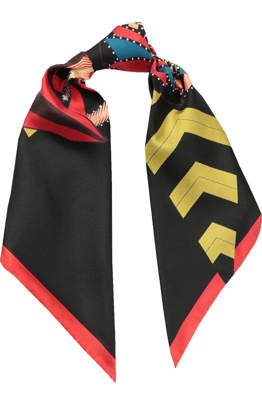 Шелковый платок с принтом Givenchy GW9090/SC778