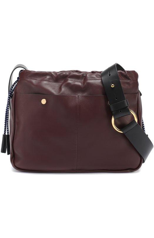 Сумка Swing с внешними карманами Marni SBMPV05A00LA553
