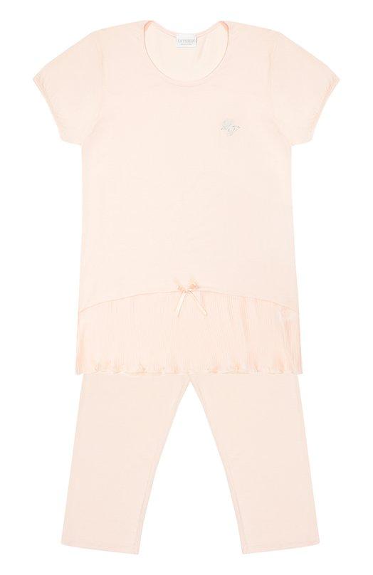 Пижама из модала с бантом La Perla 51681/8-14