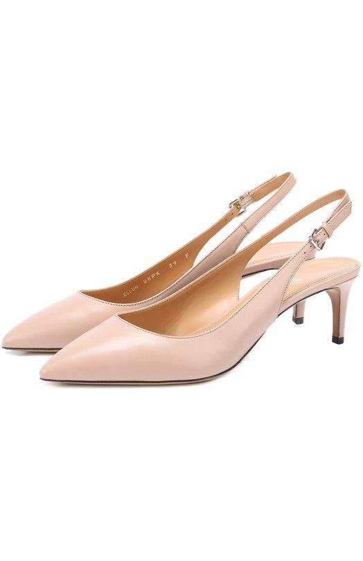 Кожаные туфли Ellun с ремешком Bally ELLUN/CALF PLAIN