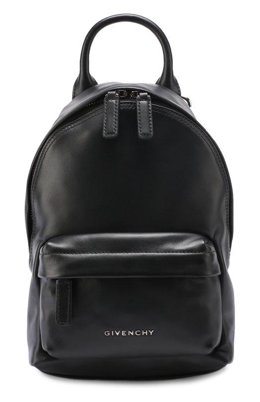 Кожаный рюкзак с логотипом бренда Givenchy BB0/5534/007
