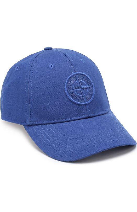 Хлопковая бейсболка с логотипом бренда Stone Island 661599168