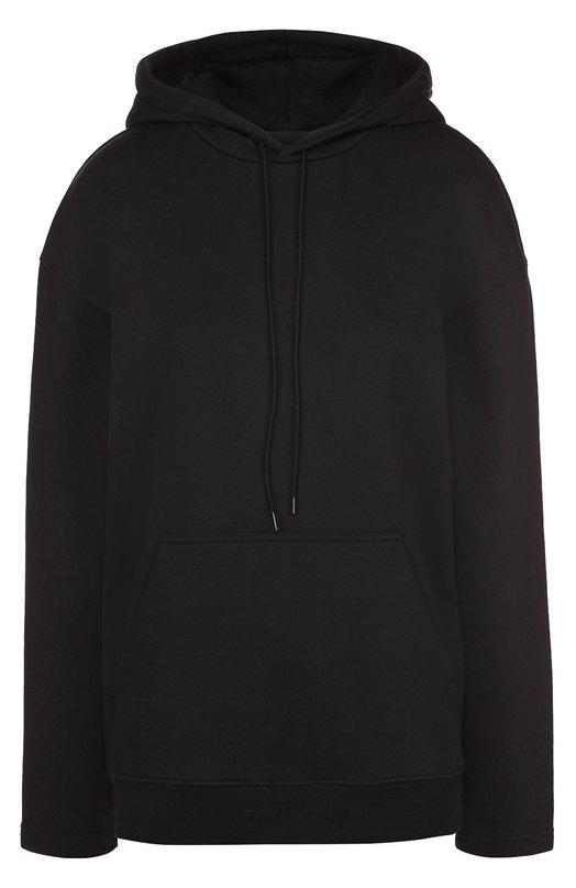 Толстовка прямого кроя с карманом и капюшоном Balenciaga 457620/TUK08