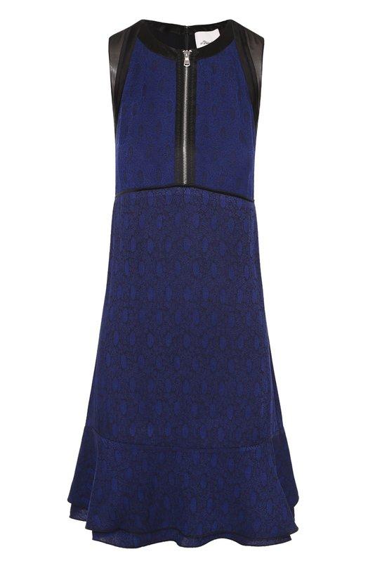 Мини-платье с завышенной талией и оборками 3.1 Phillip Lim E172-9599VDM