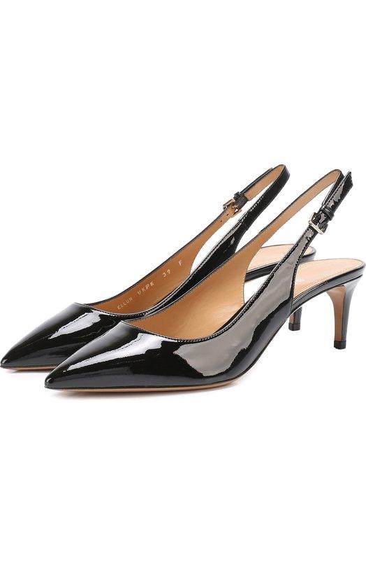 Лаковые туфли Ellun с ремешком Bally ELLUN/LAMB PATENT