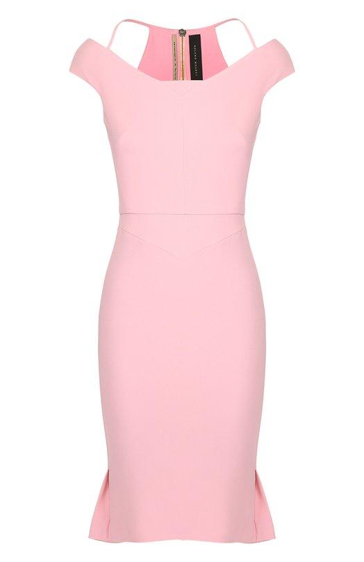 Платье-футляр с открытыми плечами Roland Mouret PS17/10019/2241