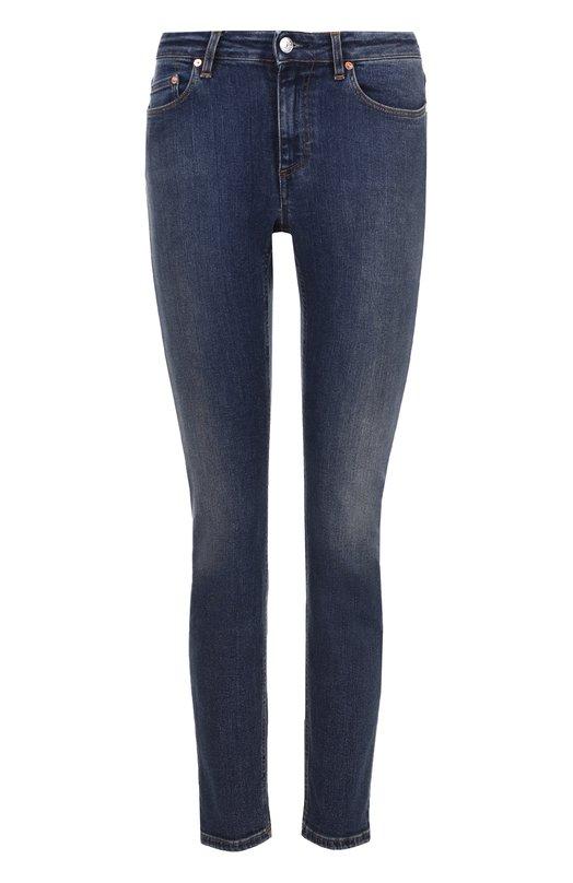 Укороченные джинсы-скинни с потертостями Acne Studios 30X156-183