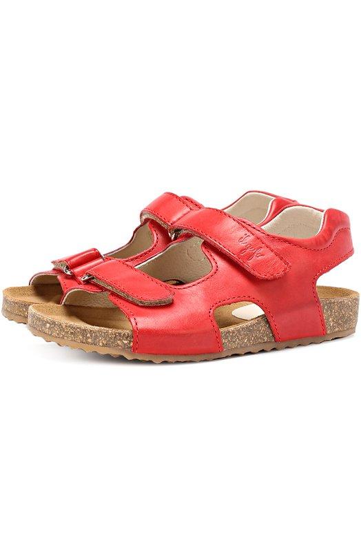 Кожаные сандалии с застежками велькро Il Gufo G550/VITELL0 ICARUS/27-30