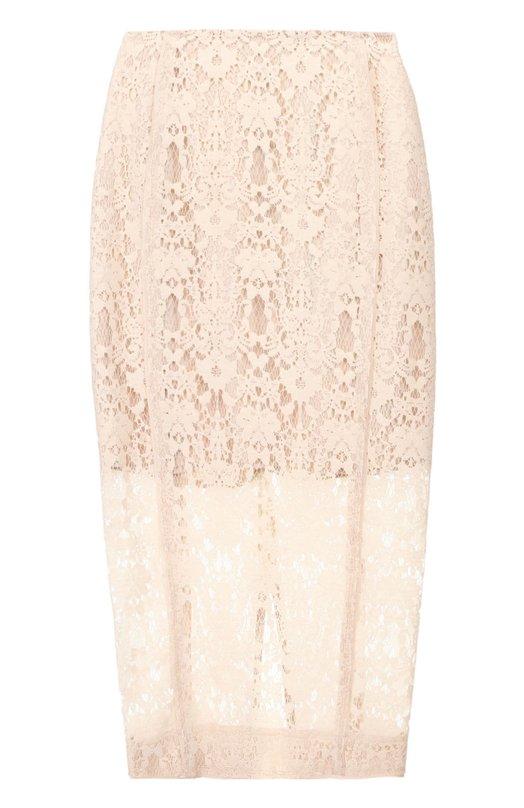 Кружевная юбка-карандаш DKNY P4610094RA