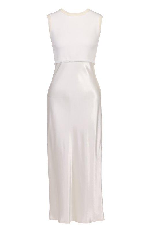 Платье-миди с завышенной талией без рукавов DKNY P4672404EB