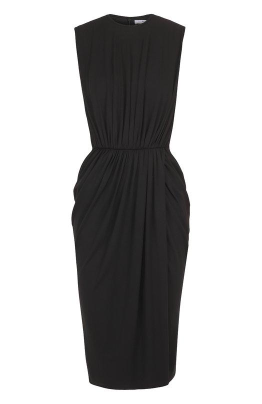 Приталенное платье-миди с драпировкой Givenchy 17P/2713/435