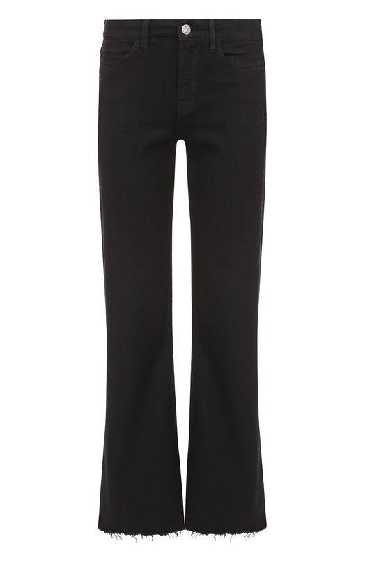 Укороченные расклешенные джинсы с бахромой MiH Jeans W2102175