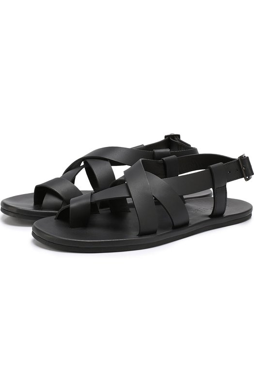 Кожаные сандалии на плоской подошве Lanvin FM-CSDSMB-DEVI-P17