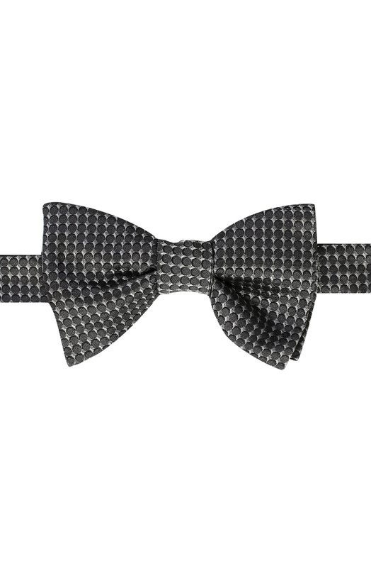 Шелковый галстук-бабочка с узором Lanvin 2326/B0W TIE