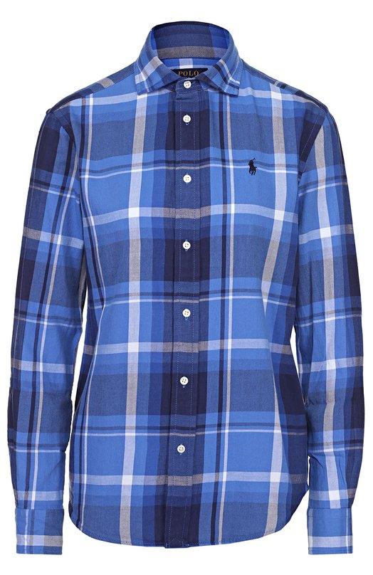 Блуза прямого кроя в клетку Polo Ralph Lauren V33/XZ867/XY867