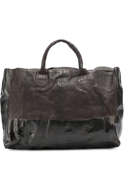 Кожаная дорожная сумка с плечевым ремнем OXS rubber soul 7Q0944T.999C2DB