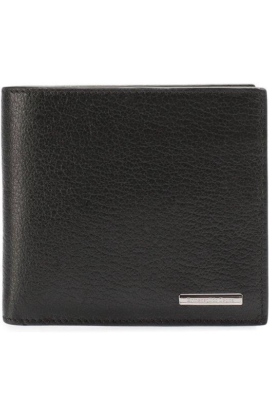 Кожаное портмоне с отделениями для кредитных карт и монет Ermenegildo Zegna E1136XCBS