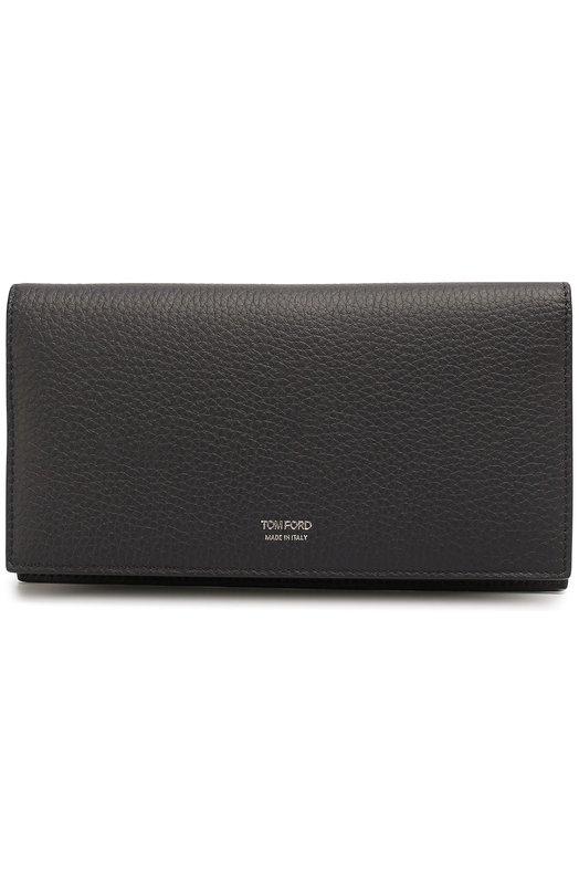 Кожаный бумажник с отделениями для кредитных карт и монет Tom Ford Y0225H/C95
