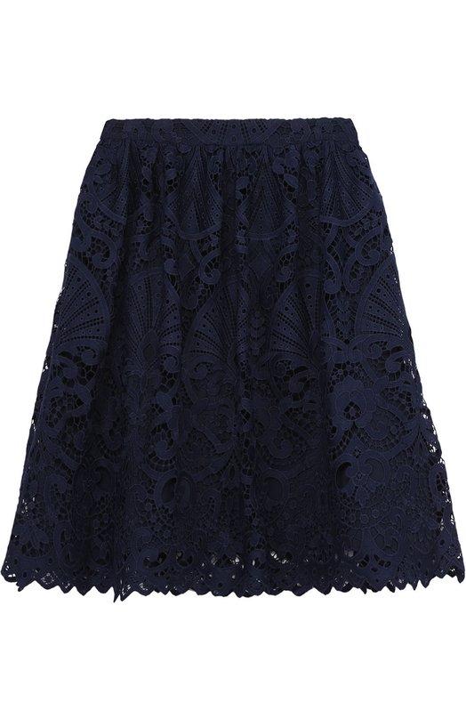 Кружевная юбка-миди Alice + Olivia C612319324