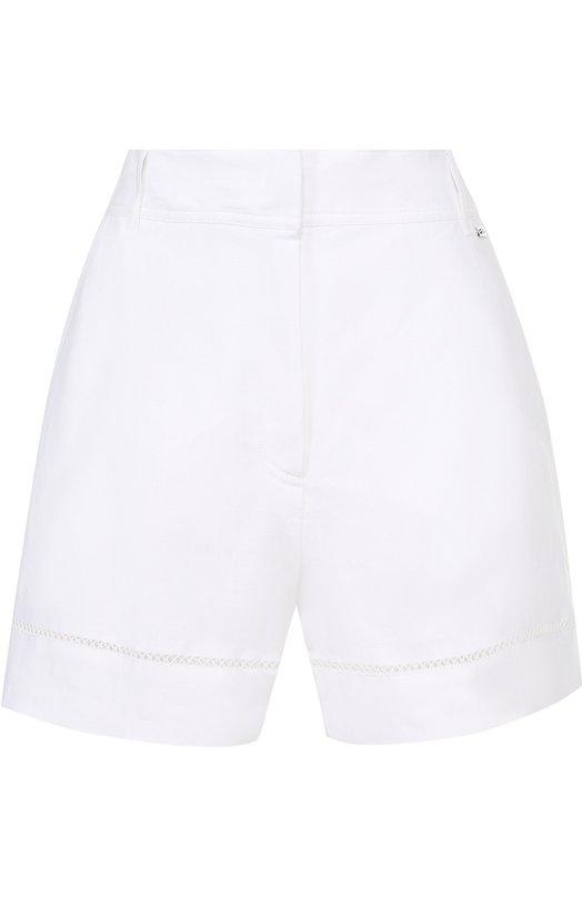 Льняные мини-шорты с карманами Escada Sport 5022767