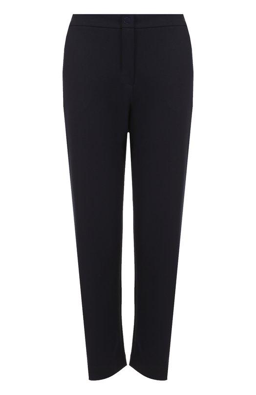 Укороченные расклешенные брюки с карманами Armani Collezioni 3YMP50/MJFAZ