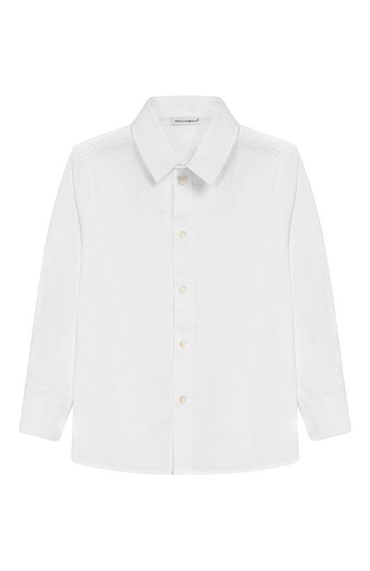 Рубашка из хлопка Dolce & Gabbana 0131/L41S67/FUEAJ/2-6