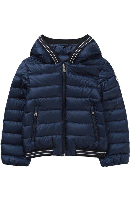 Пуховая куртка с капюшоном Moncler Enfant C1-951-41397-99-53048
