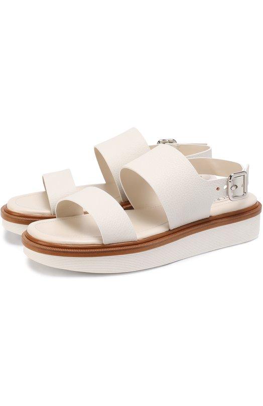 Кожаные сандалии на массивной подошве Tod's XXW23A0S9205J1