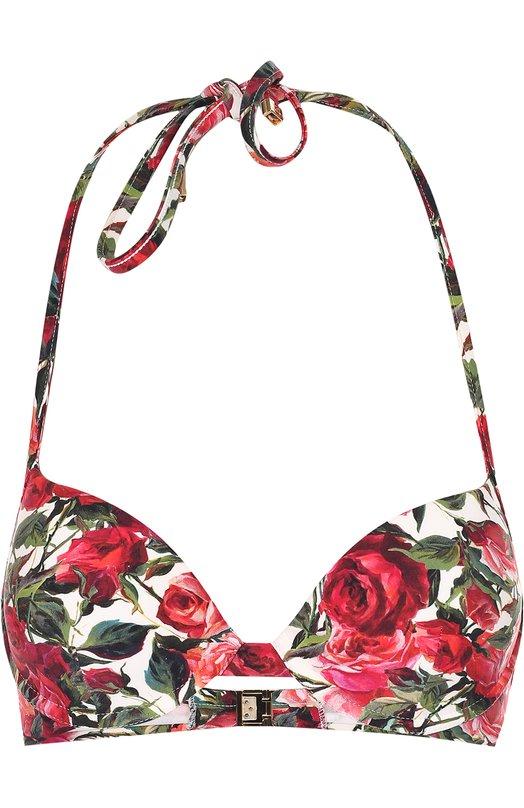 Бра с цветочным принтом Dolce & Gabbana 0124/01A30J/FSGIU