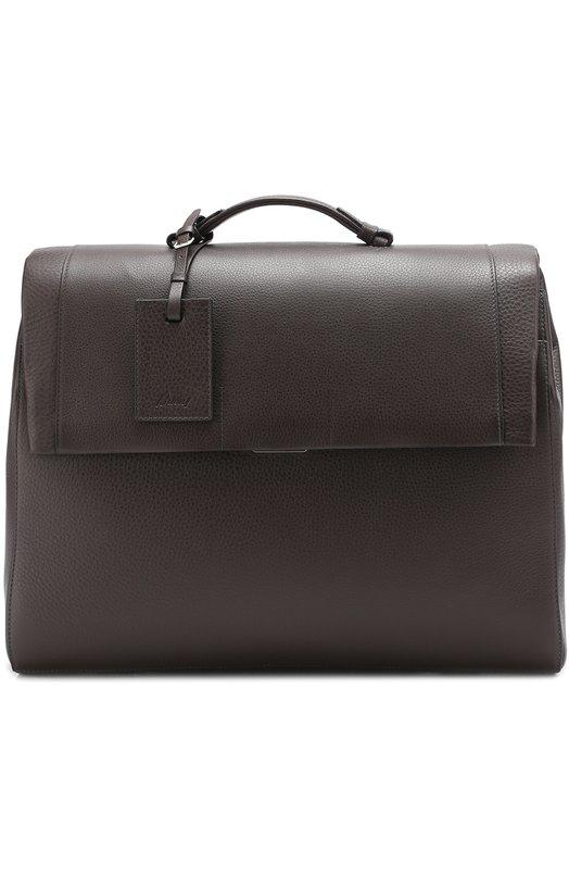 Комплект из кожаного портфеля и папки для бумаг Brioni 0IV0/P5709