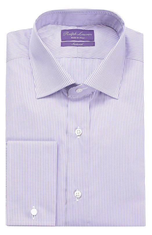 Хлопковая сорочка с воротником кент Ralph Lauren P02/XZ4H1/XY4HP