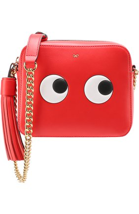 Сумка Eyes Cross-Body Anya Hindmarch красная | Фото №1