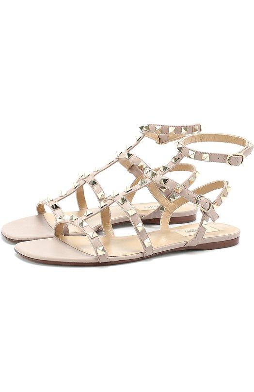 Кожаные сандалии Rockstud с ремешками Valentino MW2S0A05/V0D