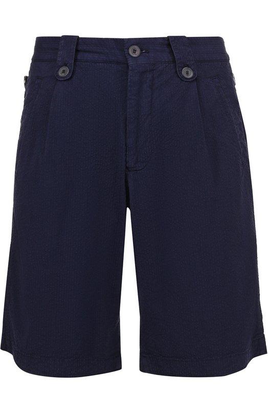 Хлопковые шорты свободного кроя Giorgio Armani VSP12W/VS953