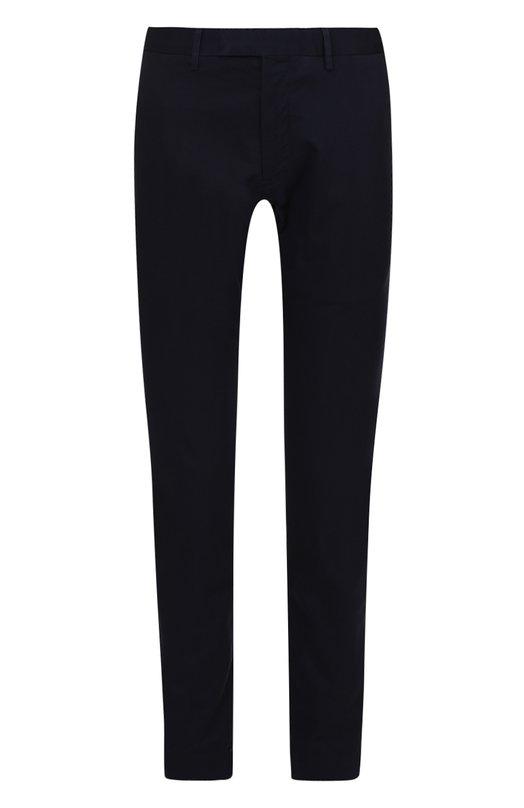 Хлопковые брюки прямого кроя Polo Ralph Lauren A20/PE40B/CR363