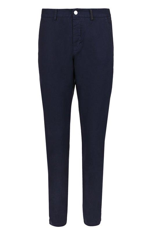 Хлопковые брюки с заниженной линией шага Iceberg I1P/B172/0412