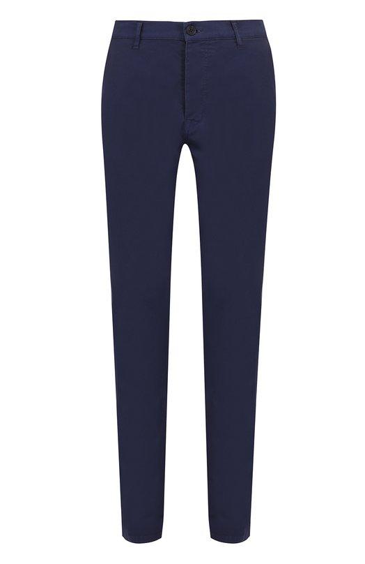 Хлопковые брюки прямого кроя Kenzo F755PA2121TA