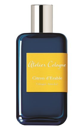 Парфюмерная вода Citron D'Erable Atelier Cologne | Фото №1