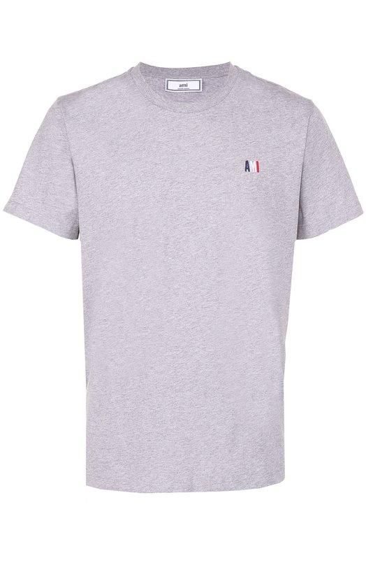 Купить Хлопковая футболка с круглым вырезом Ami Португалия 5139673 BSRJ100.71