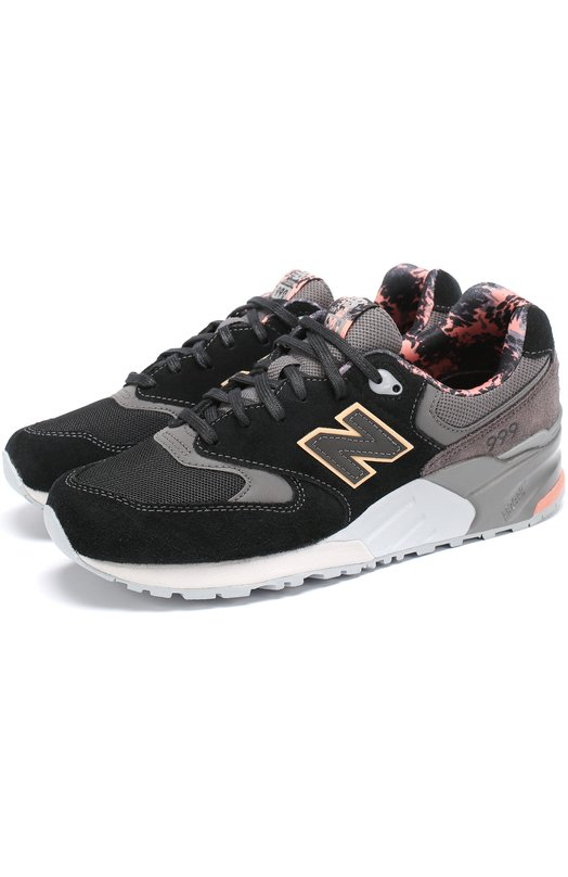 Комбинированные кроссовки 999 на шнуровке New Balance WL999TA/B