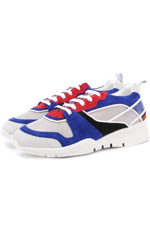 Комбинированные кроссовки на шнуровке Dsquared2 S17K513/1195