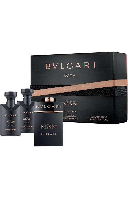 Набор Man In Black BVLGARI 49071BVL