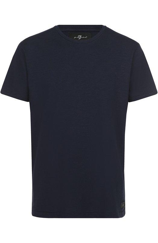 Хлопковая футболка с круглым вырезом 7 For All Mankind S5M2380NV