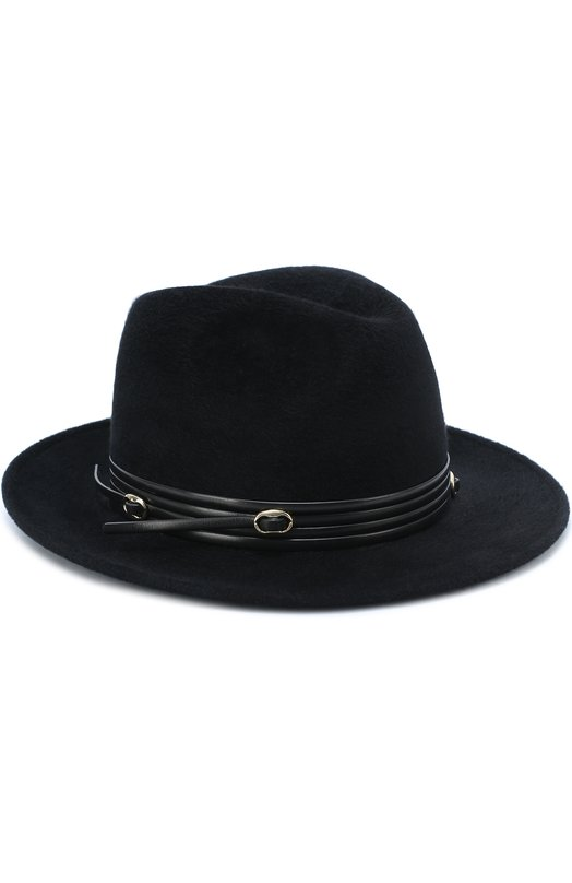 Купить Фетровая шляпа Philip Treacy, DW236, Великобритания, Черный, Фетр: 100%;