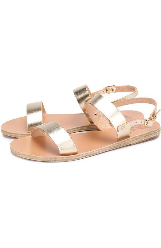 Сандалии Clio из металлизированной кожи Ancient Greek Sandals CLI0/VACHETTA