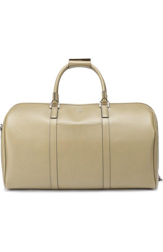 Кожаная дорожная сумка с плечевым ремнем Serapian 2806/EV0LUTI0N