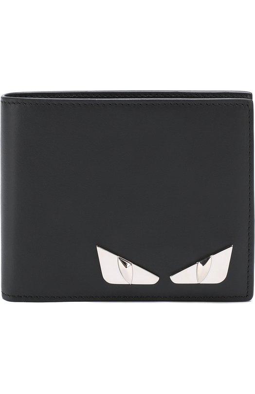 Кожаное портмоне с отделениями для кредитных карт и монет Fendi 7M0001/074