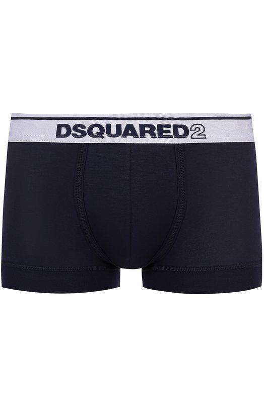 Боксеры из вискозы с широкой резинкой Dsquared2 D9LC61320