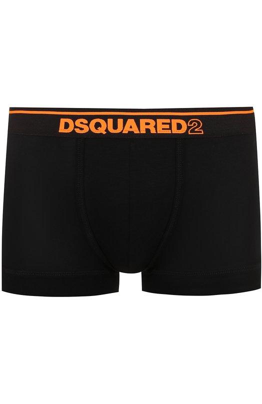 Боксеры из вискозы с широкой резинкой Dsquared2 D9LC61330